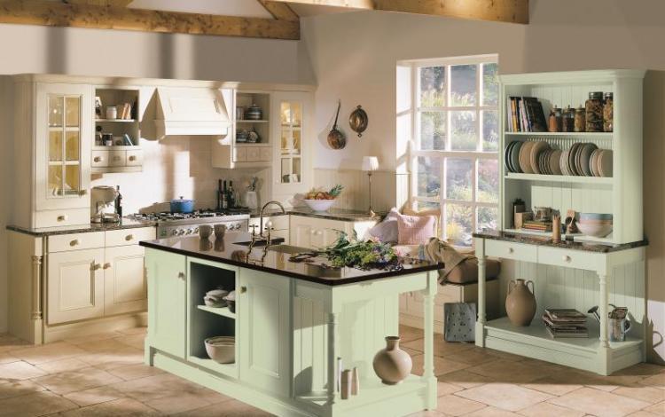 Painted Timber Kitchen Range  Avonlea Oak Painted 2