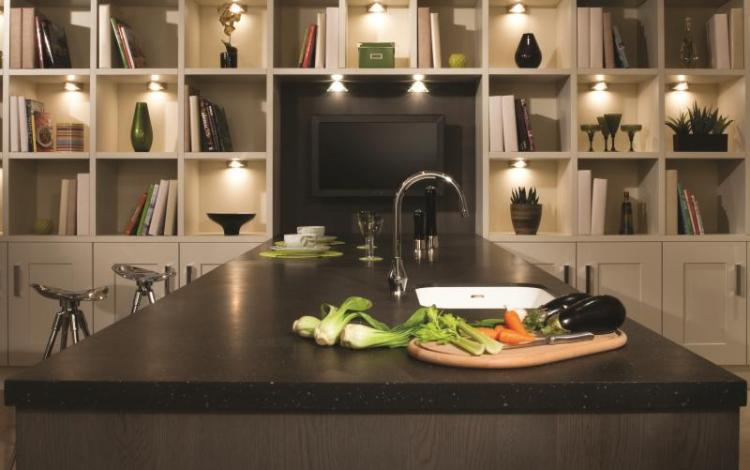 Painted Timber Kitchen Range  Clon Mushroom Bookcase