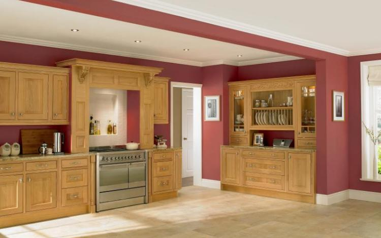 In-Frame Kitchen Range  Eidon Oak