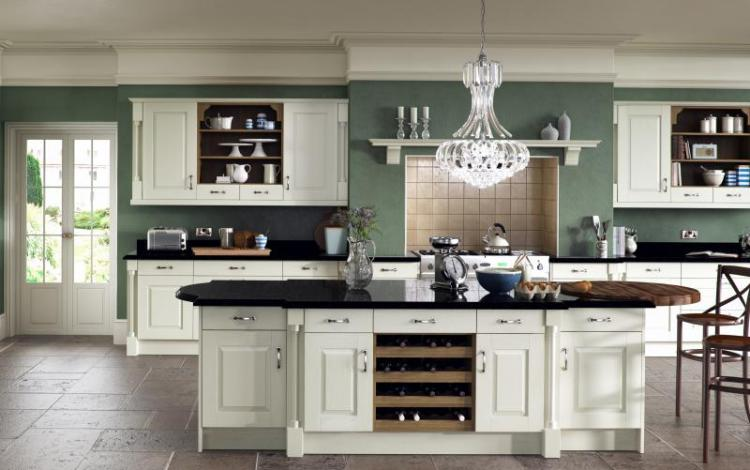 Painted Timber Kitchen Range  Windsor Classic Ivory