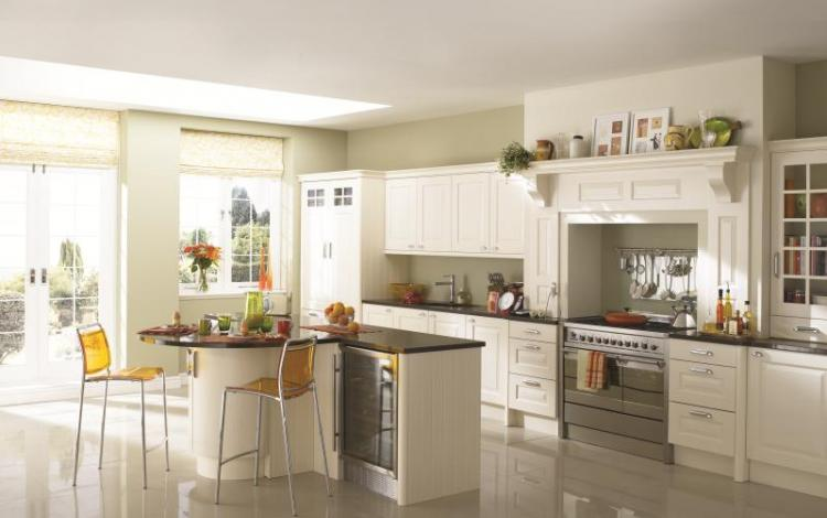 Painted Timber Kitchen Range  Abberley Painted