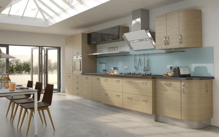 Wood Effect Kitchen Range  Arbury Natural Oak