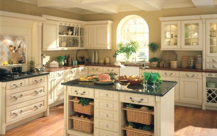 Timber Kitchen Range  CHEVIOT CREAM