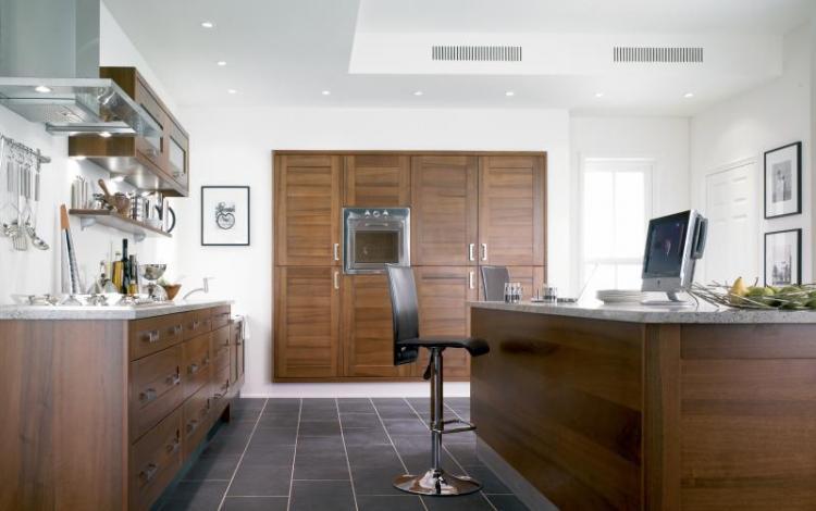 Timber Kitchen Range  Cheriton Walnut