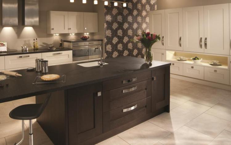Painted Timber Kitchen Range  Clonmel Mussel