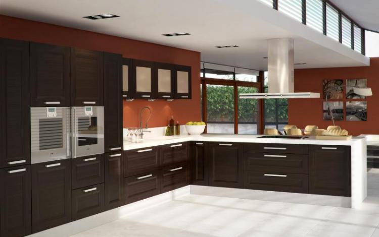 Wood Effect Kitchen Range  Ellison-Choco