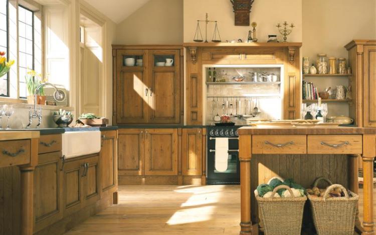 Timber Kitchen Range  MERRICK CHARACTER