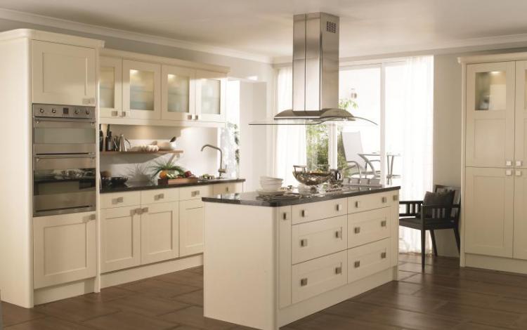 Painted Timber Kitchen Range  Meldon